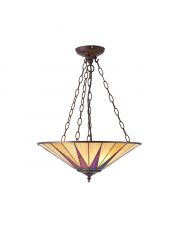 Dark star large inverted 3lt pendant 60W