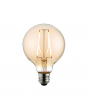 E27 LED filament globe 95mm dia 2W